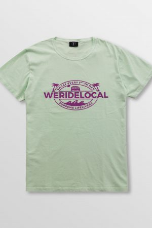 Weridelocal_Supreme_Lifelivers_Tee_Mint_Cotton_unisex_t-shirt_street_athletic_SS19_Front