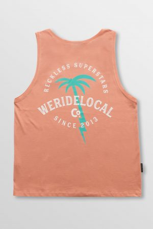 Weridelocal_Voltage_Division_Tank_Top_Peach_Cotton_unisex_street_athletic_SS19_Back