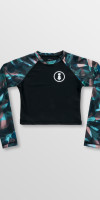Weridelocal_Wild_Crop_shirt_Swimsuit_Swimwear_4_way_stretch_Quick_dry_UV_50+_Sun_protection_street_athletic_kitesurf_surf_sup_windsurf_SS19_Front