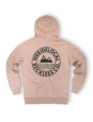 era beige zipped hoodie fw12 streetwear