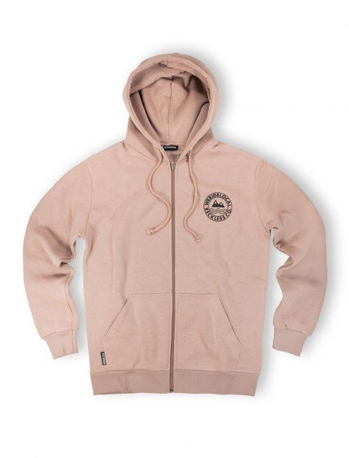 era beige zipped hoodie front fw12 streetwear