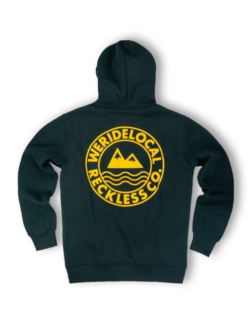 era forest green hoodie fw21 mountain waves