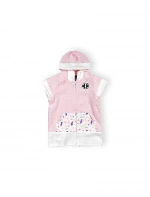 baby surf poncho pink it's a girl mini local