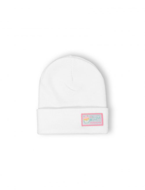 yes yeti patch beanie pink fw21