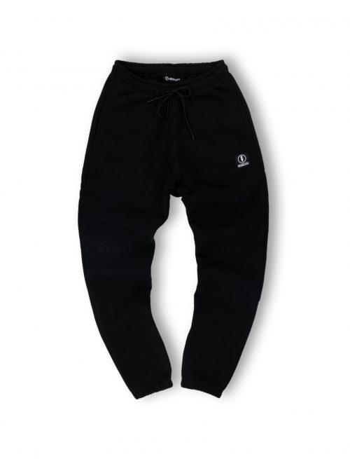 logo black sweatpants streetwear men