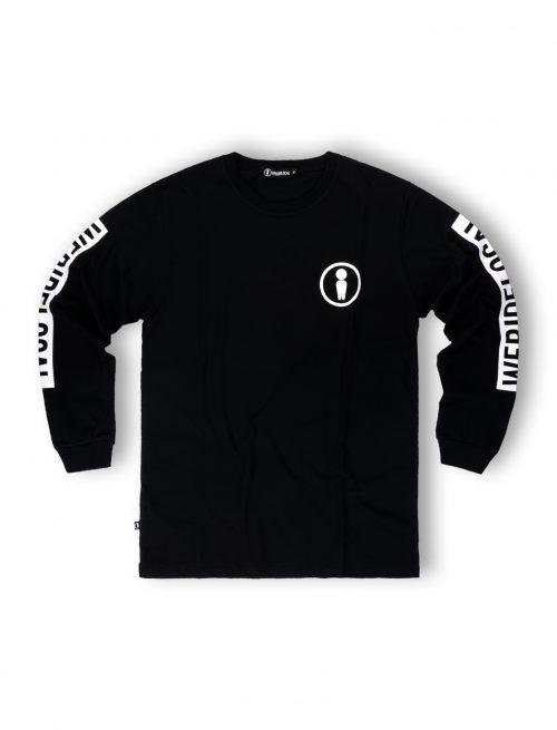 union black longsleeve tshirt streetwear unisex