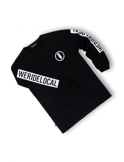 men union black longsleeve tshirt streetwear unisex