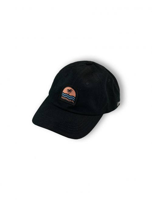 black dad hat ss21 unisex