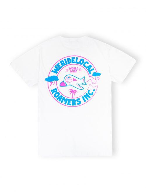 white tshirt streetwear weridelocal ss21
