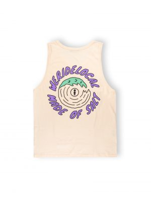 we ride local made of salt tank top cotton wave ss21