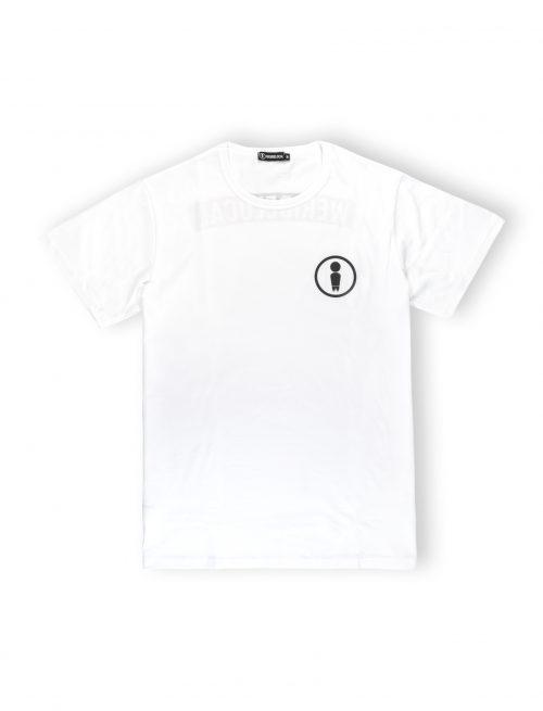 we ride local logo white tshirt symbol