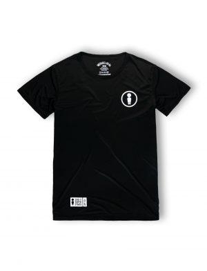 we ride local black logo rash vest tshirt logo tee lycra ss21