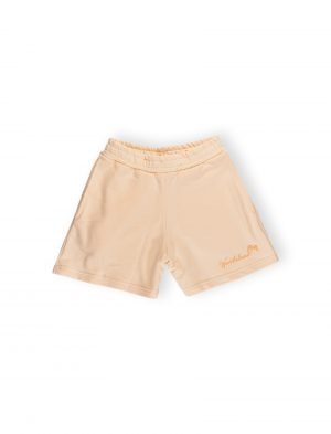 cream shorts play we ride local palm graphic