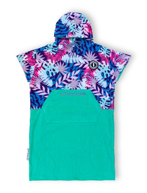 jam jungle women poncho surf kitesurf weridelocal tropical ss21 hooded towel